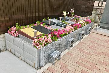 樹木型墓地アザレア